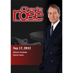 Charlie Rose - Salman Rushdie / Martin Amis (September 17, 2012)