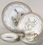 Royal Copenhagen Flora Danica 5 Piece Place Setting