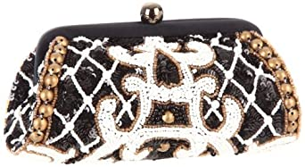 SANTI 5661-FLMS Clutch,Black,One Size