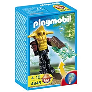 Playmobil 4848 Temple Guard with Green Light Sword