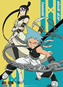 Soul Eater: Tsubaki and Black Star Battle Ready Wall Scroll