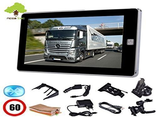 """Noza Tec 7""""LKW Navi Navigation Navigationsgerät Auto GPS EU Karten Bluetooth 8G"""