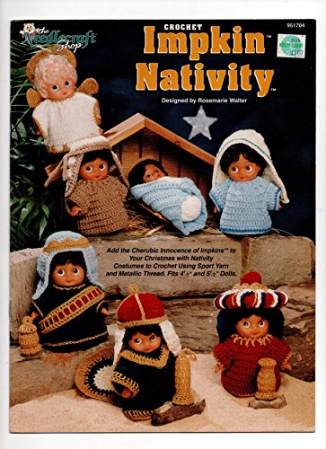 Crochet Impkin Nativity