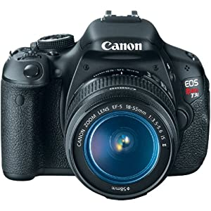 amazoncom canon eos rebel t3i 18 mp cmos digital slr camera and canon eos rebel t3i 18 mp cmos digital slr camera and digic 4 imaging with ef s 18 135mm f35 56 is standard zoom lens on sale 300x300