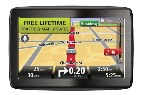TomTom VIA 1435TM 4.3Inch Portable Bluetooth GPS Navigator with Lifetime Traffic & Maps