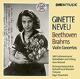 オリジナルSWRテープ・リマスター 1948-1949 ジネット・ヌヴー(ヴァイオリン) ベートーヴェン&ブラームス:ヴァイオリン協奏曲集