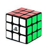 G-CUBE スピードキューブ Ver.2.0 驚きのスムーズ感! ルービックキューブ 立体パズル キューブ形パズル 競技用 (ブラック)