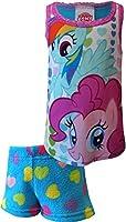 My Little Pony Rainbow Dash And Pinkie Pie Shortie Pajama for Little Girls