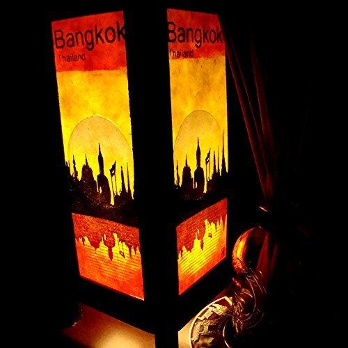 2-x-bangkok-city-sun-riverside-handmade-asian-oriental-wood-table-lamp-gift-bedside-night-light-bulb