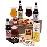 The Craft Beer Collection - Free UK Express Delivery - Fresh smoked cheese, with an assortments of treats and three warming craft ales