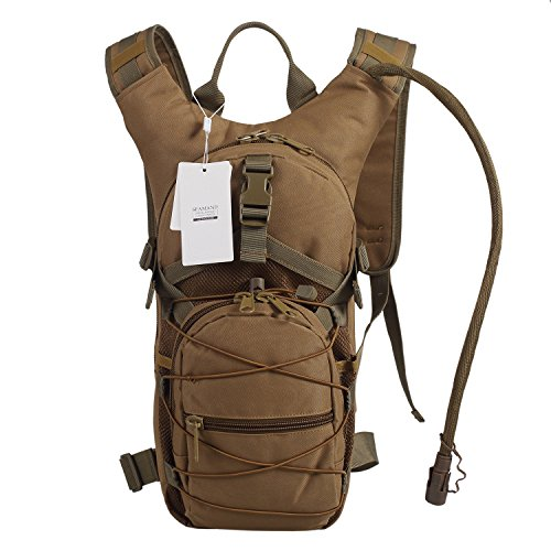 Seamand Hydration Backpack with 3L Water Bladder for