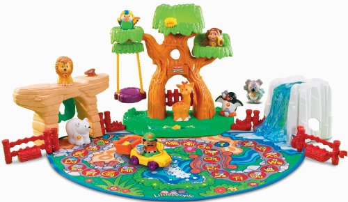 Fisher-Price Little People A To Z Learning Zoo Playset