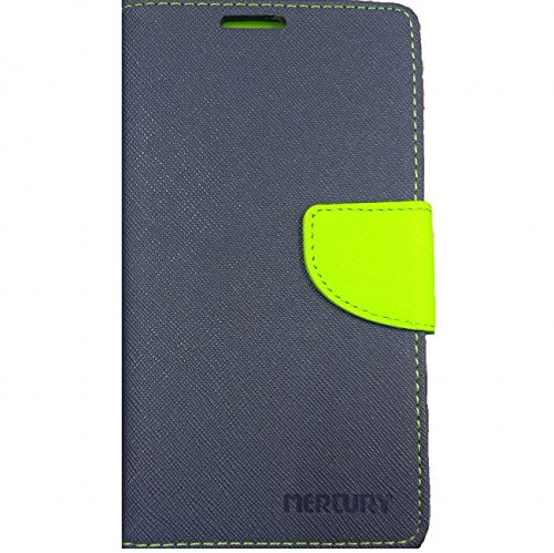 Mercury Goospery Flip Cover For Micromax Canvas 2 Colors A120 - Blue