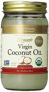 Spectrum Organic Virgin Coconut Oil, Unrefined
