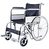 Giantex 24'' Lightweight Foldable Folding Wheelchair w/Swingaway Footrest FDA Certificate