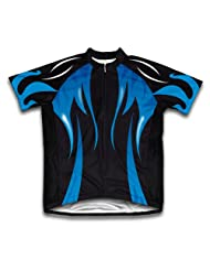 Midnight Waters Short Sleeve Cycling Jersey for Women