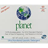 Planet Ultra Powdered Laundry Detergent, 64 Ounce