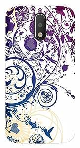Wow Premium Design Back Cover Case For Motorola Moto G4 Play