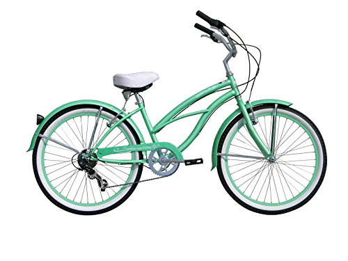 Micargi Bicycle Industries Tahiti 7-Speed Ride On, Mint Green (Car Rims 24 Inch With Tires compare prices)