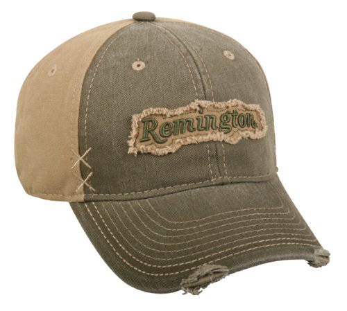 Mossy Oak Remington Embroidered Patch Cap