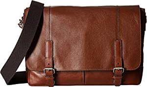 Fossil Graham East West Leather Messenger Bag by Fossil Duffel Bags and Backpacks