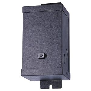 Sea Gull Lighting 94062-12 Single Output Multi-Tap Transformer, Black, 12-Volt 300-Watt