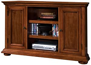Home Styles 5527-07 Homestead Corner Credenza, Distressed Warm Oak Finish