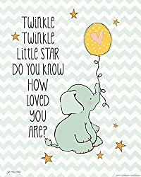 Heritage 1093 Twinkle Love Wall Decor, 14 x 11-Inch