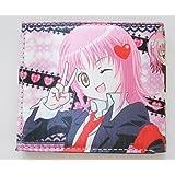 Japan Anime Shugo Chara Bi Fold Pink Multi Compartment Wallet