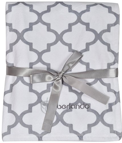 Berlando- Ultra Soft & Plush Baby Blanket, Unisex, For Newborns & Babies, Perfect Baby Shower Gift, Baby Gifts, For Boys & Girls, 100% Polyester