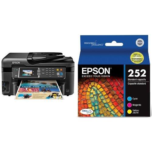 awardpedia epson workforce wf 3620 wifi direct all in one color inkjet printer copier scanner. Black Bedroom Furniture Sets. Home Design Ideas
