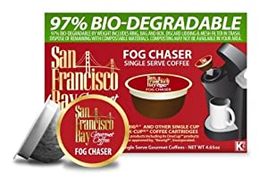 San Francisco Bay Coffee Fog Chaser, 36-Count OneCup Single Serve Cups
