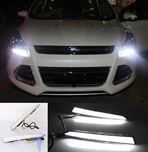 elegant-smart-2-x-drl-led-feux-de-brouillard-lampe-w-commutateur-de-commande-ford-escape-kuga-13