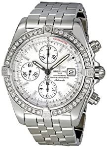 Breitling Men's A1335653/G569 Chronomat Evolution Diamond Bezel Watch from Breitling