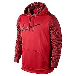 New Nike Men\'s KO Wetland Logo Pullover Hoodie (L)