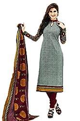 Aarvi Women's Cotton Unstiched Dress Material Multicolor -CV00154