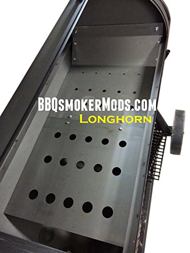 LavaLock Tuning System for Oklahoma Joe's Longhorn Offset Smoker (Oklahoma Joe Bbq compare prices)