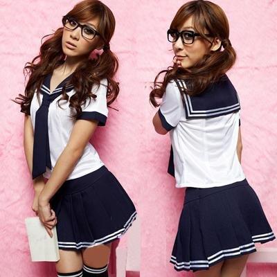 【セクシーコスプレ】コスプレ セーラー服 黒×紺 夏服 コスチューム コスプレ 衣装