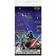 Unique Plastic Star Wars Table Cover,…