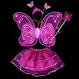 お手軽 妖精コスチュームSET ハロウィン子ども衣装 ローズピンク