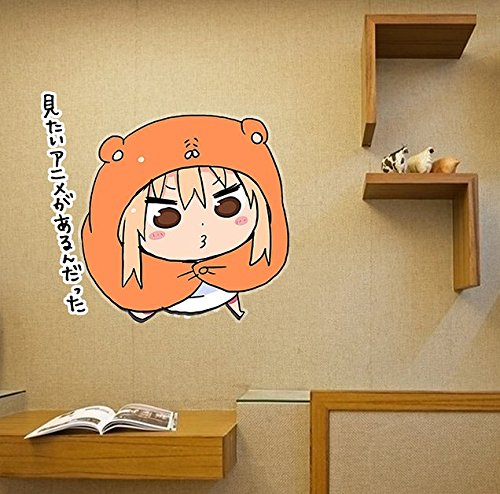 Umaru Chan Wall Stickers /Fridge Stickers /Glass Window Stickers  /Waterproof Car Stickers Kidu0027s Room/Bedroom/Living Room Wall Decals  Creative Home ...