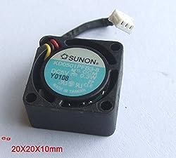 10PCS 20mm x 20mm x 10mm 3 Pin DC fans Brushless Cooling Blower Fan DC5V 0.3W