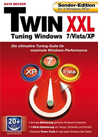 Twin XXL - Tuning Windows 7, Vista & XP Sonderedition