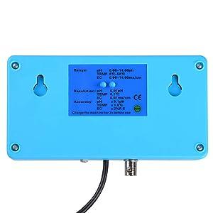 Instahibit 6 in 1 Multi-Parameter Water Meter Digital LCD Water Quality Testing Monitor PH PPM Temp TDS EC CF Analyzer