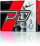 NIKEGOLF(ナイキゴルフ) ゴルフボール(1ダース12個入り) POWER DISTANCE9 LONG GL0723-101 ホワイトボール/レッドスウッシュ ランキングお取り寄せ