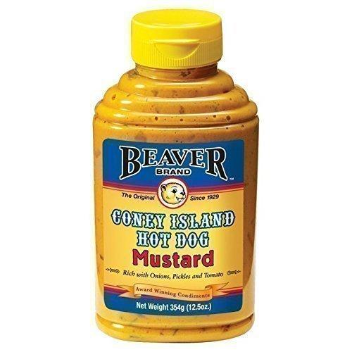 Biber Coney Island Hot Dog Senf (354G)