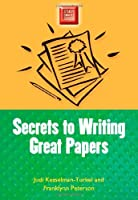 Secrets to Writing Great Papers Front Cover