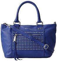 Kenneth Cole Reaction Connect 4 Satchel - Studded K03232 Top Handle Bag,Cobalt,One Size