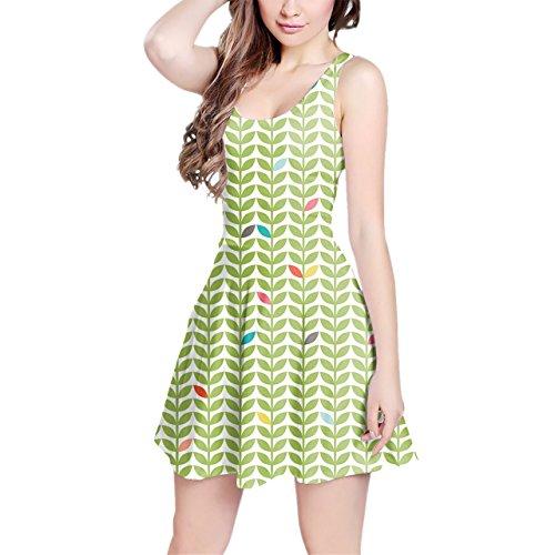 Queen of Cases Sixties Mod Flowers Sleeveless Dress - 3XL XS-3XL Kleid