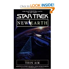Thin Air (Star Trek: New Earth, Book 5) by Kristine Kathryn Rusch and Dean Wesley Smith
